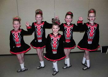 Young Irish Dancers