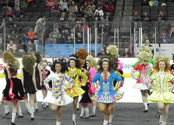 Irish Dancing at the arena